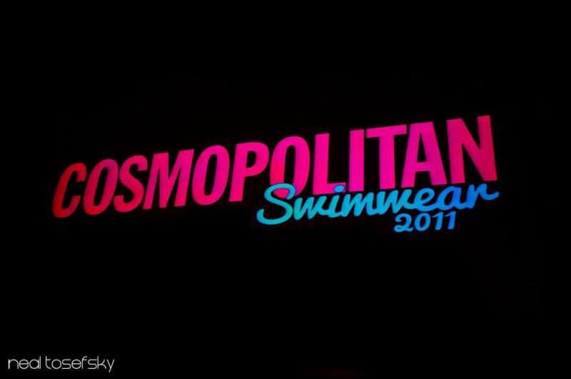 The Cosmo Swimwear Show 2011