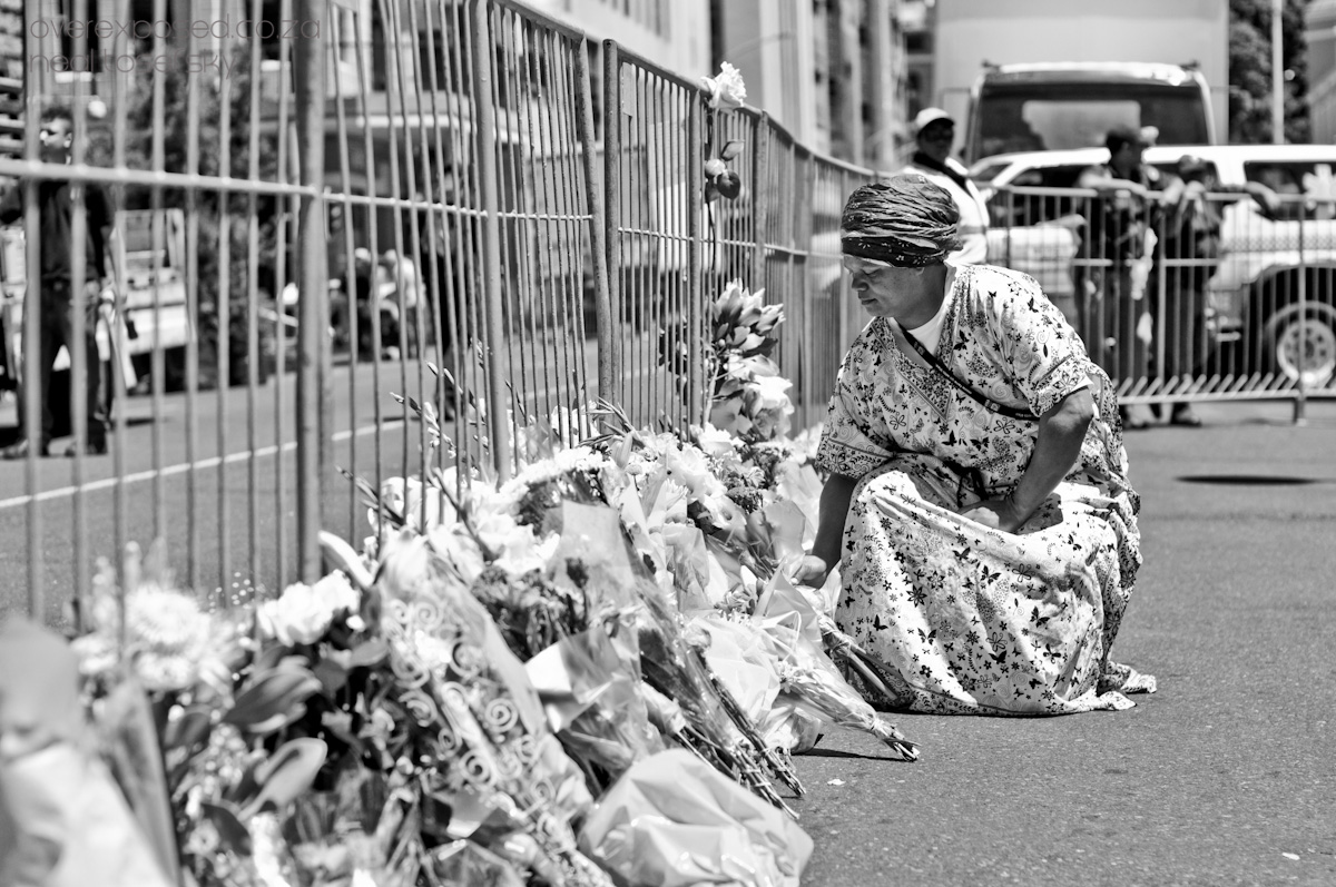 Cape Town Mourns Nelson Mandela